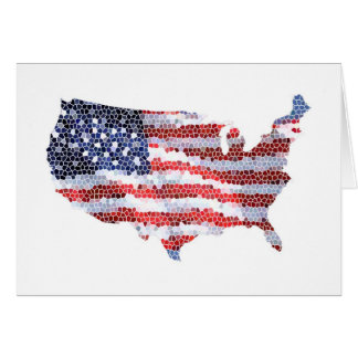 Star Spangled Greeting Card