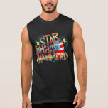 Star Spangled Hammered 4th of July Sleeveless Tees