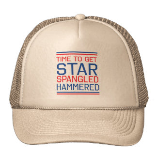 Star Spangled Hammered Cap