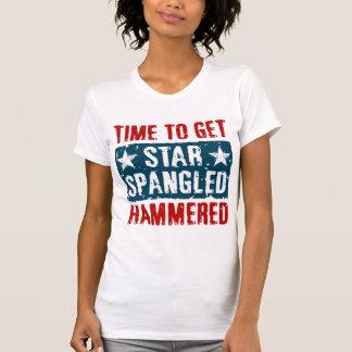 Star Spangled Hammered Shirt