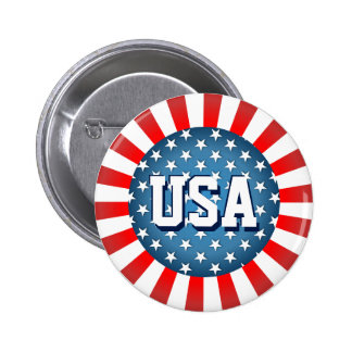 Star-Spangled Style 6 Cm Round Badge