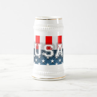 Star-Spangled Style Beer Steins