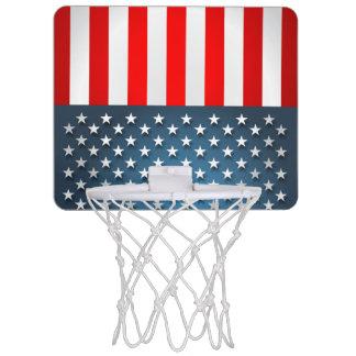 Star-Spangled Style Mini Basketball Hoop