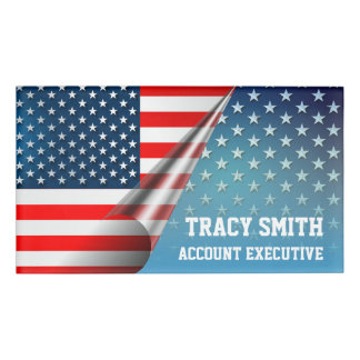 Star-Spangled Style Name Tag