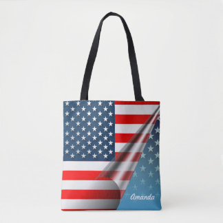 Star-Spangled Style Tote Bag
