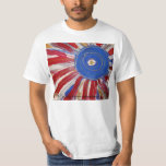 """""""Star-Spangled Sun"""" by Candy Waters Autism Artist Tee Shirt"""
