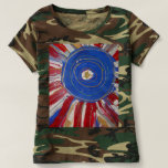 """""""Star-Spangled Sun"""" by Candy Waters Autism Artist Tshirt"""