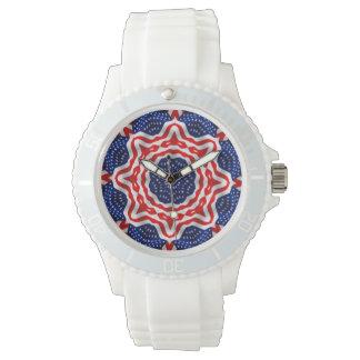Star Spangled Timepiece Wrist Watches