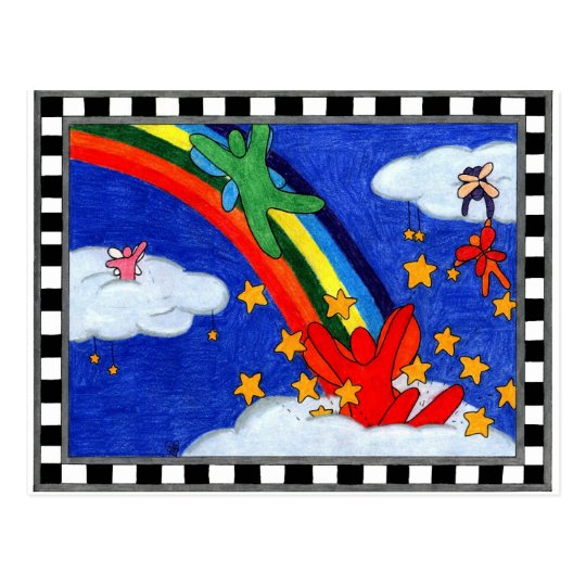 Star Sprinkles Postcard