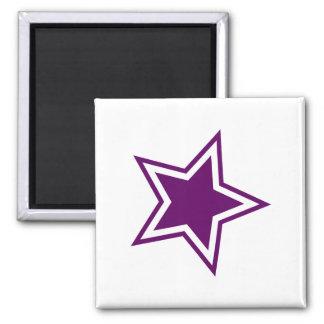 Star Square Magnet