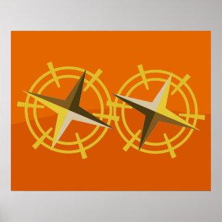 Star Steering Wheels Poster
