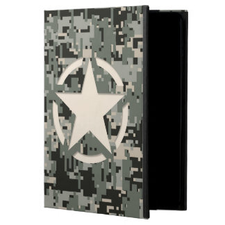Star Stencil Vintage Jeep Decal Digital Camo Style iPad Air Covers
