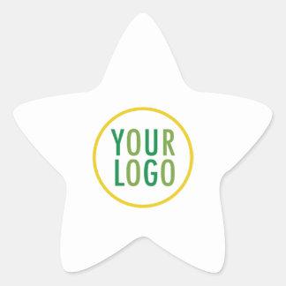 Star Sticker Custom Logo Branded Product Seal