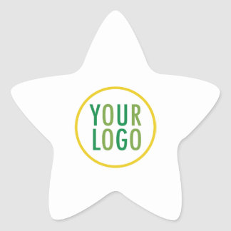 Star Stickers Custom Business Logo Promotional