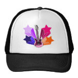 Star Struck Guitar Trucker Hat