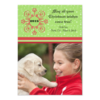 Star Struck - Photo Holiday Card 13 Cm X 18 Cm Invitation Card