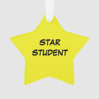 Star Student Ornament