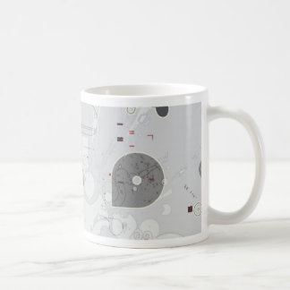 star texture coffee mug