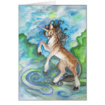 Star the Unicorn Greeting Card
