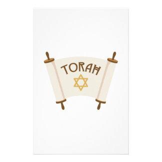 Star Torah Stationery
