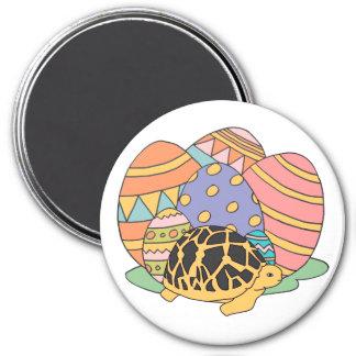 Star Tortoise Easter Magnet (purple)