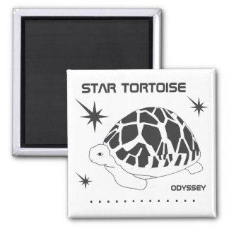 Star Tortoise Odyssey Magnet