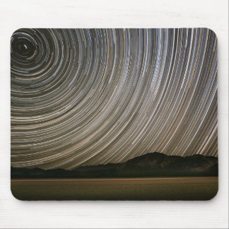 Star Trail at Night | California, Death Valley Mouse Mat