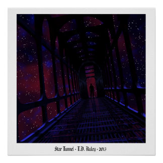 Star Tunnel, Poster