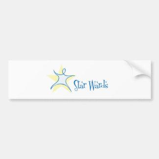 Star Wards Bumper Sticker