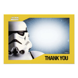 Star Wars Storm Trooper Thank You Cards