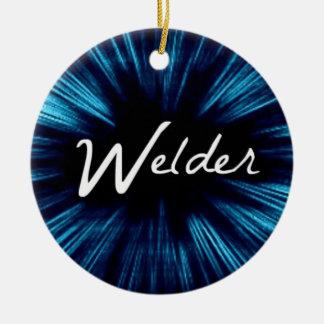 Star Welder Christmas Ornament