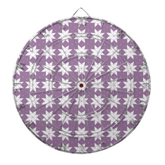 Star Wheels in Mauve Dartboard