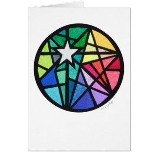 star white card