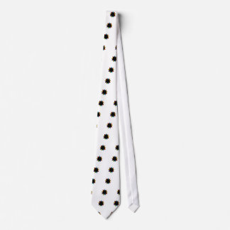 Star with colorful arrows tie