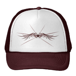 Star with Wings Trucker Hats