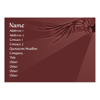 Star with Wings Pack Of Chubby Business Cards