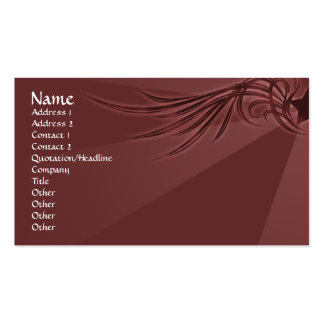 Star with Wings Pack Of Standard Business Cards