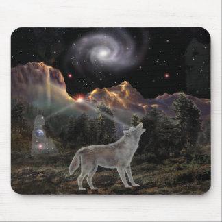 Star Wolf Mouse Mat