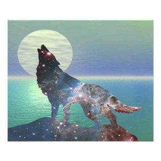 Star Wolf Photo Print