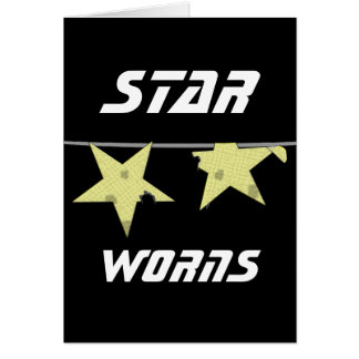 Star Worns Humor Card