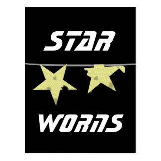 Star Worns Humor Post Card