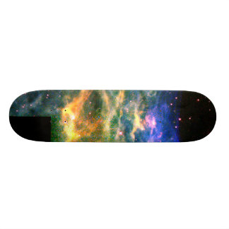 Star WR 136 Tears Apart a Shell of Gas 20.6 Cm Skateboard Deck