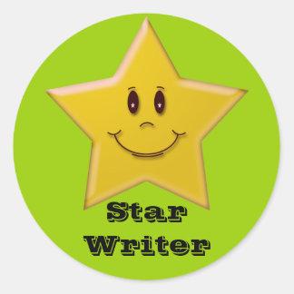 Star Writer Sticker