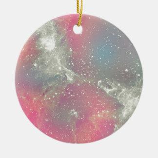 Starbabe Nebula Pastel Galaxy Ornaments