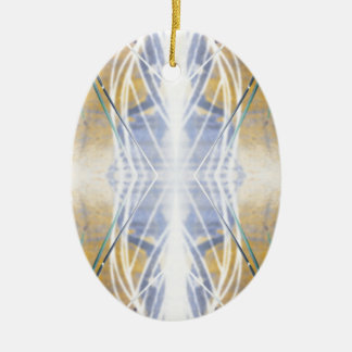 Starbeam Geometric Christmas Ornament