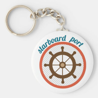 Starboard Port Key Chains