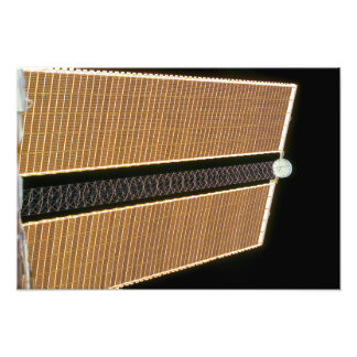 Starboard solar array wing panel photo print