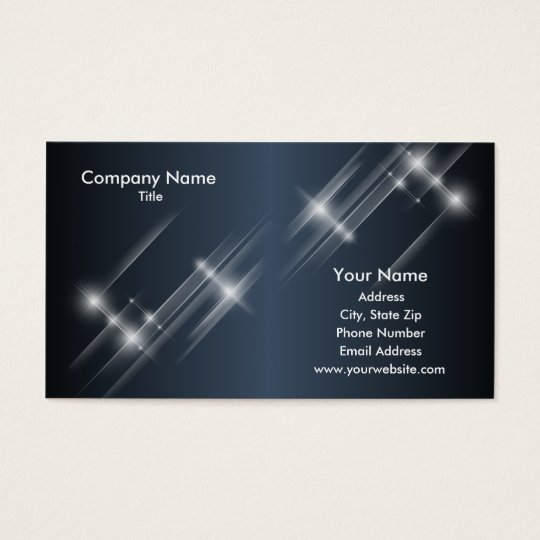 Starbright Business Card