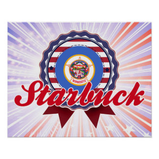 Starbuck MN Print