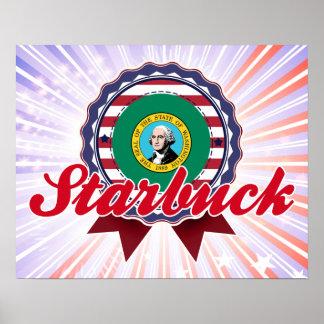 Starbuck, WA Poster